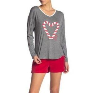Juicy Couture Pajama Top & Shorts Set NWT